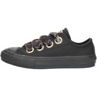 Sapatos Rapariga Sapatilhas Converse 661878 Preto
