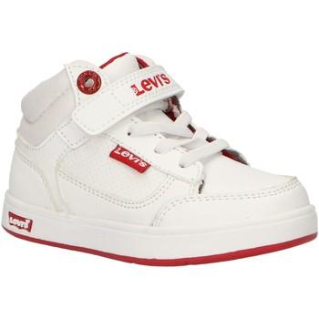 Sapatos Criança Sapatilhas de cano-alto Levi's VGRA0065S NEW GRACE Blanco