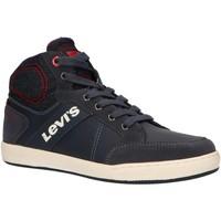 Sapatos Criança Sapatilhas de cano-alto Levi's VCLU0035S NEW MADISON Azul