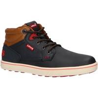 Sapatos Criança Sapatilhas de cano-alto Levi's VPOR0021S NEW PORTLAND Azul