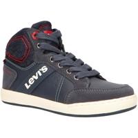 Sapatos Criança Sapatilhas de cano-alto Levi's VCLU0030S NEW MADISON Azul