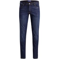 Textil Homem Calças de ganga Jack & Jones 12157486 JJILIAM JJORIGINAL AM 014 50SPS PS BLUE DENIM Azul