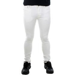Textil Homem Calças de ganga slim Jack & Jones 12144472 JJILIAM JJORIGINAL AKM WHITE Blanco