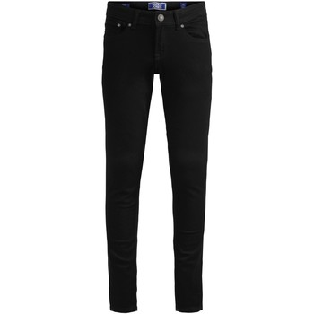 Textil Rapaz Calças de ganga slim Jack & Jones 12149934 JJILIAM JJORIGINAL AM 829 JR NOOS BLACK DENIM Negro