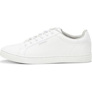 Sapatos Rapaz Sapatilhas Jack & Jones 12161010 JRTRENT PU BRIGHT WHITE 19 Blanco