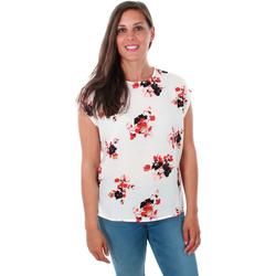 Textil Mulher Tops / Blusas Vero Moda 10211848 VMKAYA SK TIO WVN PRISTINE Blanco