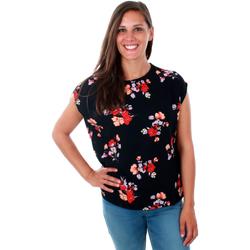 Textil Mulher Tops / Blusas Vero Moda 10211848 VMKAYA SK TIO WVN NIGHT SKY Azul marino