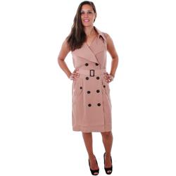 Textil Mulher Vestidos Vero Moda 10211944 VMBELLA SL WAISTCOAT CAFÉ AU LAT Marrón