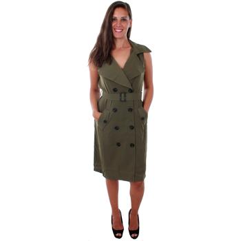 Textil Mulher Vestidos Vero Moda 10211944 VMBELLA SL WAISTCOAT IVY GREEN Verde