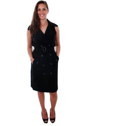 Textil Mulher Vestidos Vero Moda 10211944 VMBELLA SL WAISTCOAT BLACK Negro