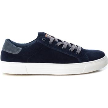 Sapatos Homem Sapatilhas Xti 48690 NAVY Azul marino