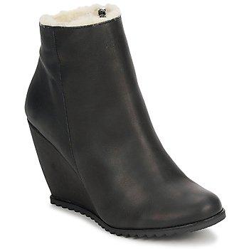 Sapatos Mulher Botins D.Co Copenhagen SALLY ZIPPER Preto