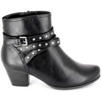 Sapatos Mulher Botins Jana Boots 25362-23 Noir Preto