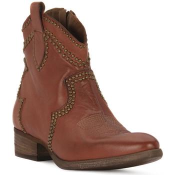 Sapatos Mulher Botins Priv Lab CUOIO BUFALO Marrone