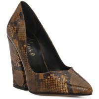 Sapatos Mulher Escarpim Priv Lab DECOLTE PITONE Marrone