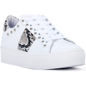 Sapatos Mulher Sapatilhas At Go GO GALAXY BIANCO Bianco