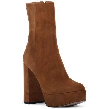 Sapatos Mulher Botins Priv Lab RODEO CAMOSCIO Marrone