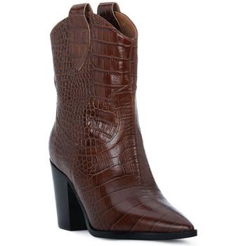 Sapatos Mulher Botins Priv Lab CHOCO COCCO Marrone