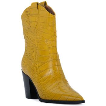Sapatos Mulher Botins Priv Lab OCRA COCCO Giallo