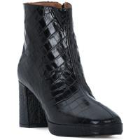 Sapatos Mulher Botins Priv Lab NERO COCCO Nero
