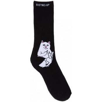 Roupa de interior Homem Meias Ripndip Lord nermal socks Preto