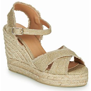 Sapatos Mulher Sandálias Castaner BROMELIA Dourado