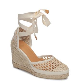 Sapatos Mulher Sandálias Castaner CAROLA Creme