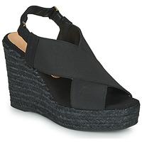 Sapatos Mulher Sandálias Castaner FEDERICA Preto