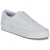 Sapatos Mulher Sapatilhas Superdry CLASSIC LACE UP TRAINER Branco