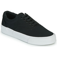 Sapatos Mulher Sapatilhas Superdry CLASSIC LACE UP TRAINER Preto