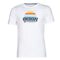 Textil Homem T-Shirt mangas curtas Oxbow M1TEKSO Branco