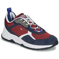 Sapatos Homem Sapatilhas Tommy Hilfiger FASHION MIX SNEAKER Azul
