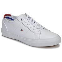 Sapatos Homem Sapatilhas Tommy Hilfiger CORE CORPORATE FLAG SNEAKER Branco