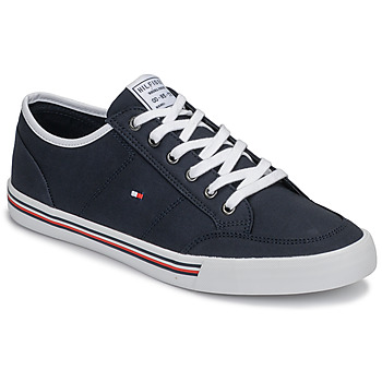 Sapatos Homem Sapatilhas Tommy Hilfiger CORE CORPORATE TEXTILE SNEAKER Azul