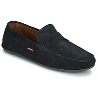 Sapatos Homem Mocassins Tommy Hilfiger CLASSIC SUEDE PENNY LOAFER Azul