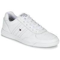Sapatos Homem Sapatilhas Tommy Hilfiger LIGHTWEIGHT LEATHER SNEAKER Branco