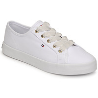 Sapatos Mulher Sapatilhas Tommy Hilfiger ESSENTIAL NAUTICAL SNEAKER Branco