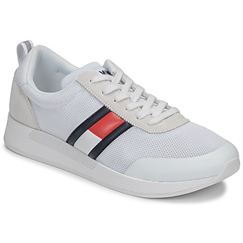 Sapatos Homem Sapatilhas Tommy Jeans FLEXI TOMMY JEANS FLAG SNEAKER Branco