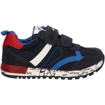 Sapatos Rapaz Multi-desportos Geox B943CC 0FU22 B ALBEN Azul