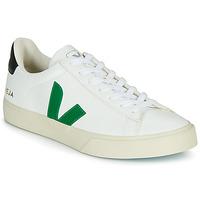 Sapatos Sapatilhas Veja CAMPO Branco / Verde / Preto
