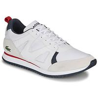 Sapatos Homem Sapatilhas Lacoste AESTHET 120 2 SMA Branco / Azul / Vermelho