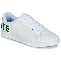 Sapatos Homem Sapatilhas Lacoste CARNABY EVO 120 7 US SMA Branco / Verde