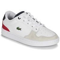 Sapatos Criança Sapatilhas Lacoste MASTERS CUP 120 2 SUC Branco / Azul / Vermelho