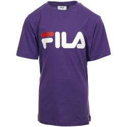 Textil Rapariga T-Shirt mangas curtas Fila Kids Classic Logo Tee
