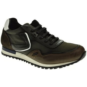 Sapatos Homem Sapatilhas Baerchi 5102 Marrón