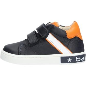 Sapatos Rapaz Sapatilhas Balducci - Polacchino blu/arancione MSPO3052 BLU