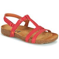Sapatos Mulher Sandálias Art I BREATHE Vermelho