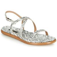 Sapatos Mulher Sandálias Neosens AURORA Branco / Prateado