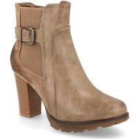 Sapatos Mulher Botins Ainy 5960 Kaki