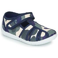 Sapatos Rapaz Chinelos Chicco TULLIO Azul / Branco